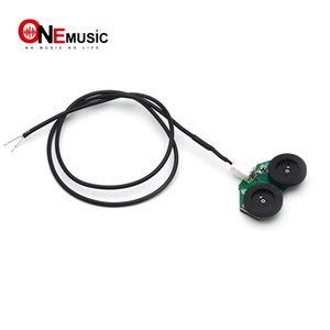 50pcs Self-adhesive Guitar Pickup and Equalize Controling Cable with Volume and Tone Wheel Control Black