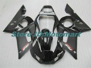 Motocicleta YAMAHA carenado kit para YZFR6 98 99 00 01 02 YZF R6 1998 2002 YZF600 carenados negro Conjunto + regalos YG33
