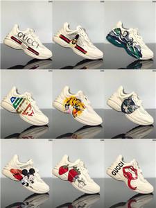 Gucci Tasche hococal livraison gratuite marque FlashTrek chaussures de sport de cristal amovible baskets hommes chaussures femmes créateurs de mode espadrilles occasionnelles