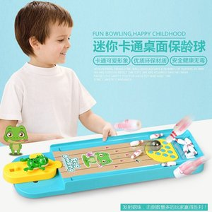 Baby Board Game Mini Bowling Parent-Child Interactive Table Games Kids Educational Toys For Children MX200414