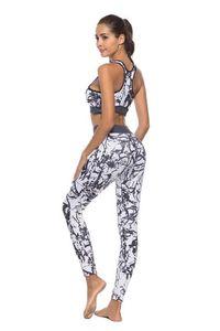 Nuevo estilo sexy Cross Border Sexy slim fit Ocio Deportes Fitness Yoga Capucha Knit Traje de dos piezas