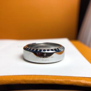 Luxus-Designer-Schmuck Ringe Herren Damen Designer Brief Druck-Mode-Bands Hochzeit Ringe schicke Damen mit Box-Ring