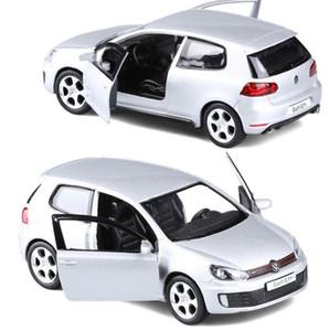 Yüksek simülasyon golf GTI, 1: 36 ölçek alaşım çekme geri araba oyuncak, döküm metal model araçlar, toplama modeli oyuncak, ücretsiz kargo Y200109