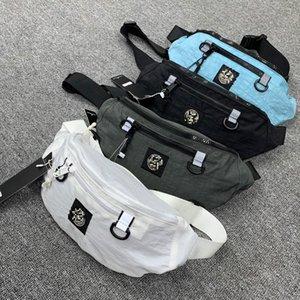 estate 2020 dettaglio striscia mens borse di cotone striscia riflettente antistrappo reticolo importato quattro colori asiatico dimensioni marsupi maschile e femminile