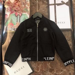 Erkek ceket çocuklar giysi tasarımcısı kartlı kumaş kaplı pamuklu ceket aşınmaya dayanıklı, antistatik, sonbahar ceket deforme kolay değil