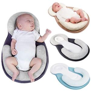 الطفل وسادة الرضع الوليد مكافحة التمديد فراش وسادة الطفل النوم تحديد المواقع وسادة منع رئيس شقة الشكل مكافحة لفة