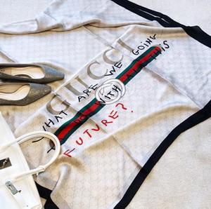 Diseñadores de seda bufanda de Pashmina de las mujeres calientes de la venta Italia Marcas señoras de las muchachas del verano del resorte suave Corazón floral Bufandas Chales 180x90cm S953