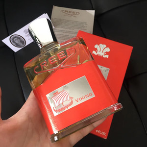 Neu 120ML Creed Parfum Creed Viking Eau De Parfum für Herren mit lang anhaltendem Duft Spary Liquid Incense.
