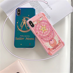 cute Case For iphone XR XS phone 11 Pro Max 6s 7 8 plus Cell Phone Cases Mobile Phone Cover 2 Colors