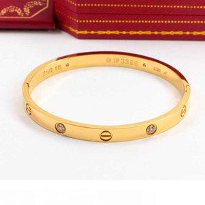 nouvelle fahion grande marque d'amour pas Bangle pilote Bolt pour les femmes usine de gros or 18 carats plaqué décoratif bijoux vente chaude peut sculpter logo