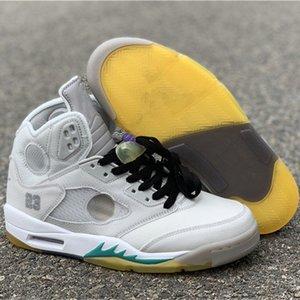 Off Meilleure Haute Qualité V 5 Jaune Chaussures de basket Grayish de Mens SP Sport Sneakers Taille US7-13 bateau avec la boîte