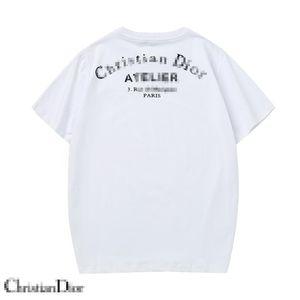 2020 Yaz Moda Kadınlar tişört Toptan Moda Erkek Baskı Kısa Kollu Dior Erkek Tasarımcı T Gömlek Lüks Ayı Desen Tees