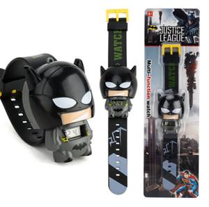 Nuovo orologio per bambini elettronico a fumetto Deformazioni telescopiche Cat Car Spiderman Orologi da bambino Per studenti Ragazzi Ragazza Bambini Orologio da polso