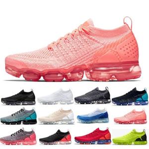 Vapores de qualidade superior 2018 novo arco-íris 2018 almofada de malha moda atlética Hot Corss caminhadas jogging maxes sapatos ao ar livre tamanho 5.5-11
