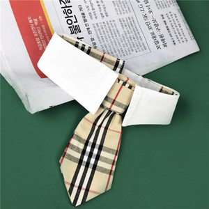 Lovely Stripe Designer Pets Bows High Street Creative Pet Neck Tie Festival Gift for Teddy Schnauzer Neck Accessories