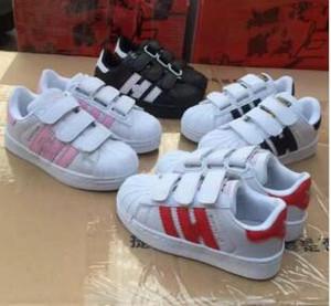 Zapatillas deportivas de diseño de alta calidad Zapatillas de deporte para niños Zapatos casuales STAN SMITH Zapatillas de deporte niños Zapatos casuales Superstar 25-35 # K6 +