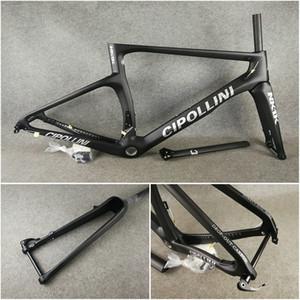 Noir avec logo argent T1100 3K Matte disques de route en carbone NK1K Disque disque cadre de vélo pour vélo avec XS-S-M-L-XL pour la sélection livraison gratuite