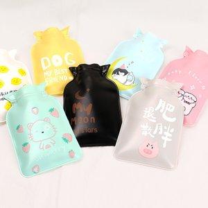 Cute cartoon hand warmers hot water bottle mini hot water bottle portable heater girl pocket hand warmers water bag#y3