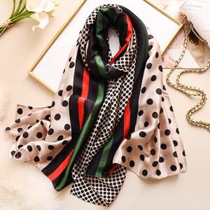 2019 sciarpa sciarpe di seta estate scialli signora avvolge morbido pashimina femminile spiaggia Echarpe rubato bandana