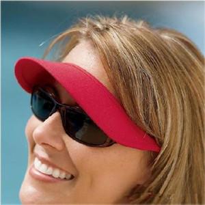 Lunettes de soleil Clip On Sun Visor Hat - Casquette de plage extérieure noire LIVRAISON GRATUITE A1