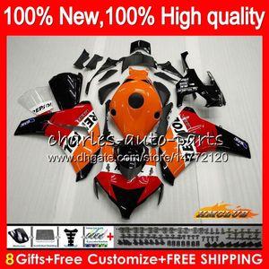 OEM corpo per HONDA CBR1000 RR CBR1000RR 08 09 10 11 79HC.0 CBR 1000 RR CC R 1000CC CBR 1000RR 2008 2009 2010 2011 Kit carena Repsol arancione