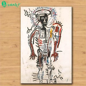 Jean Michel Basquiat Man,HD Canvas Printing New Home Decoration Art Painting (Unframed Framed)