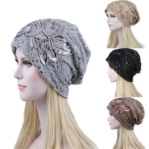 Hot New Mode Femmes Pull Bonnet Bouton en dentelle de laine d'hiver Gardez Cadeaux chauds