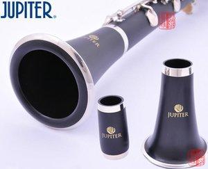 Tubo Nuova JUPITER JCL-637N B-flat Tune alta qualità Strumenti a Fiato 17 Key Clarinet nero con il caso di trasporto libero degli accessori