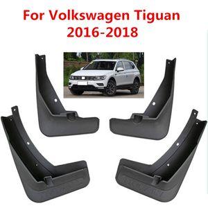 Carro mudflaps respingo Guardas da aleta da lama lamas Fender Para Volkswagen Tiguan Segunda geração 2016-2018 Car Styling Acessórios