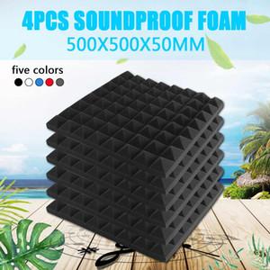 Absorção 500X500X50mm Secador espuma espuma acústica de som Tratamento Estúdio de quarto de espuma de poliuretano Azulejos