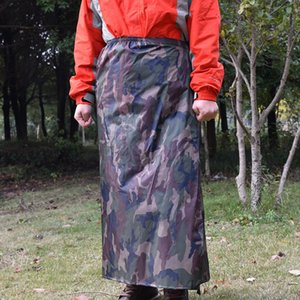 ZY9r4 Ji Yan 40D nylon half-body waterproof apron cycling fishing anti-dirt and splash-proof raincoat bicycle Apron bicycle men's and women'