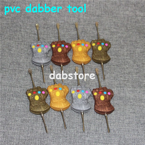 120mm Wax Dabber Tool Carb Cap e plataformas de petróleo de cera Dab Stick Carving ferramenta para E Nails Dab Nail e Quartz Nails