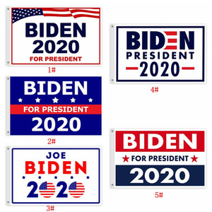 90*150cm Joe Biden Flags Banners 2020 USA Presidential Campaign Flags High Quality Polyester Biden Flag Banners Customizable DBC BH3832