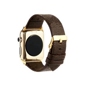 는 P P는 L 전자 밴드에 대한 모노그램 뱀 디자이너 럭셔리 스마트 시계 가죽 스트랩 난 시리즈 5 4 3 38 40 42 44mm 시계 밴드 벨트 버클을보고