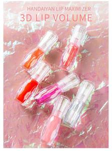 ماكياج HANDAIYAN الطبيعية النعناع ملمع الشفاه 3D كريستال جيلي اللون مرطب الشفاه الجمال مستحضرات التجميل المرأة الشفاه ماكياج