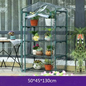 New Garden PVC 4-Tier-Gewächshaus Hohe 4 Regal-Anlage wachsen Shelter Haus Mini