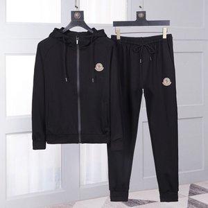 2020 neue Herren-Hoodieklage, Schwarz-Weiß-Qualität aus reiner Baumwolle Sportklage, First-Class-Design, einfach, modisch, bequem 09