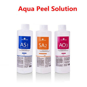 Nuevo AS1 SA2 AO3 Aqua Peeling Solution 400 ml por botella Aqua suero Facial Hydra suero Facial para piel Normal para Hydra dermoabrasión