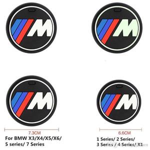 Alta qulaity gel de sílice taza coche antideslizante estera del cojín para BMW 1 3 5 7 Series F30 F35 320li 316i 328 accesorios X6 X1 X3 X5