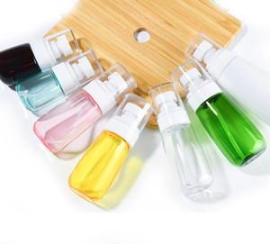 30ML 60ML زجاجة رذاذ على شكل حرف U Atomiser رذاذ زجاجات مع سميكة ستريت وسميكة القاع مستحضرات التجميل عطر شفاف زجاجة GGA3469-1