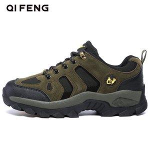 Мужчины Женщина Туризм обуви Скалолазание Trekking Обувь Mountain Повседневного Sneaker Walking Wear сопротивляясь Мужской Открытая обувь Теплого