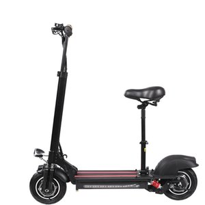 New model 10 inch foldable electric kick scooter with pedals