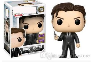 Funko POP Batman Bruce Wayne Suit 200# Anime Figure Collection Model Hot Toys Birthdays Gifts Doll Hot Sale New Arrvial PVC Free Shipping