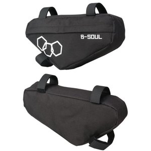 B-SOUL Waterproof Mountain Bike Triangle Bag Bicycle Frame Front Tube Bags Frame Holder Saddle Bag Mountain Bike Triangle Pouch
