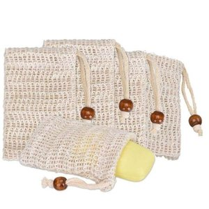 Оптовое мыло Mesh мыл Вспенивание Net пузырь мешок сетки кожи ванная Ванны Щетка Губка Скрубберы Clean Tools DMA02