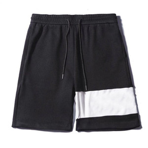 Famosa estilista para hombre Pantalones cortos Hombres pantalón mujeres cortocircuitos del verano de los pantalones de moda Cartas bordado pantalones cortos para hombre tamaño M-XXL