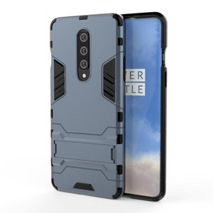 For Oneplus 8 Pro Case Reminiscent Sticker Stand Rugged Combo Hybrid Armor Bracket Impact Holster Protective Cover For Oneplus 8 Pro