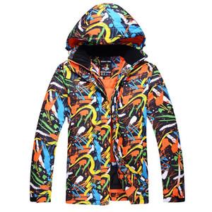 Marca hombre chaqueta a prueba de agua chaqueta a prueba de viento chaqueta de snowboard a prueba de viento Camping y senderismo para hombres en el tamaño del deporte de invierno S-XL