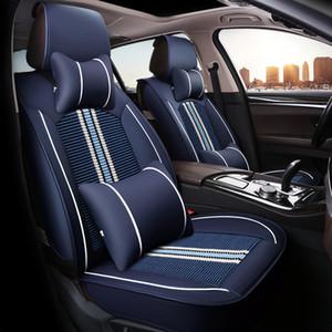 fundas de asiento de auto para autos Volkswagen VW Passat B5 B6 B7 polo 4 5 6 7 campo Tiguan automóviles de automóviles accesorios colchón impermeable