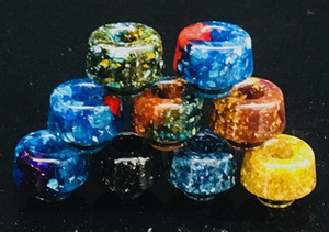 ecig vape 510 drip tip unique bright resin colorful vape mouthpiece cheap items vape accessories elektronik sigara dhgate